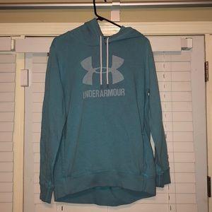 Under Armour hoodie (light blue)